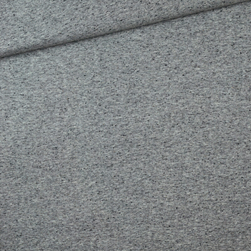 Jersey - Grau meliert Sprenkel