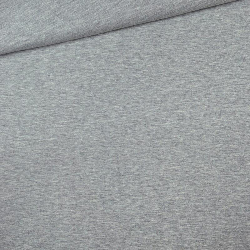 Jersey - Grau meliert
