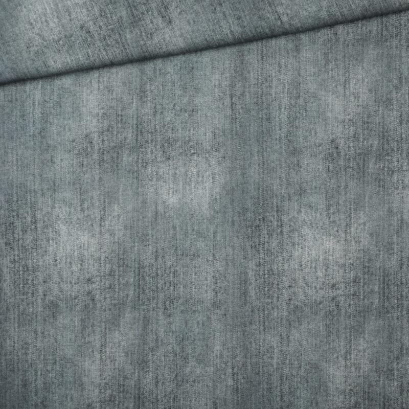 Jersey - Jeanslook Grau