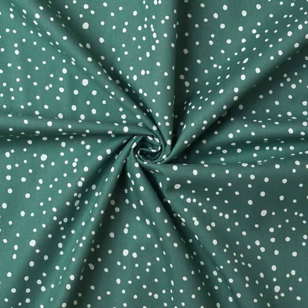 Popeline - Dots Mint
