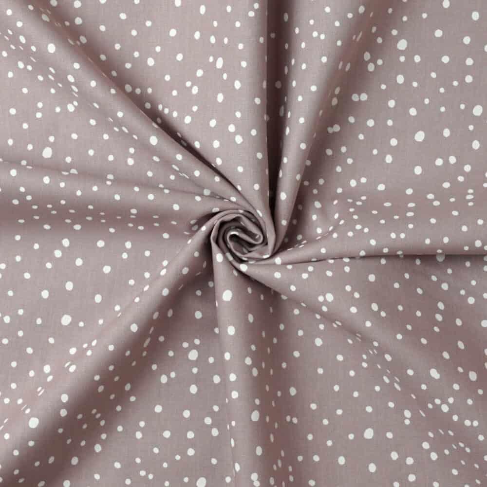 Popeline - Dots Altrosa