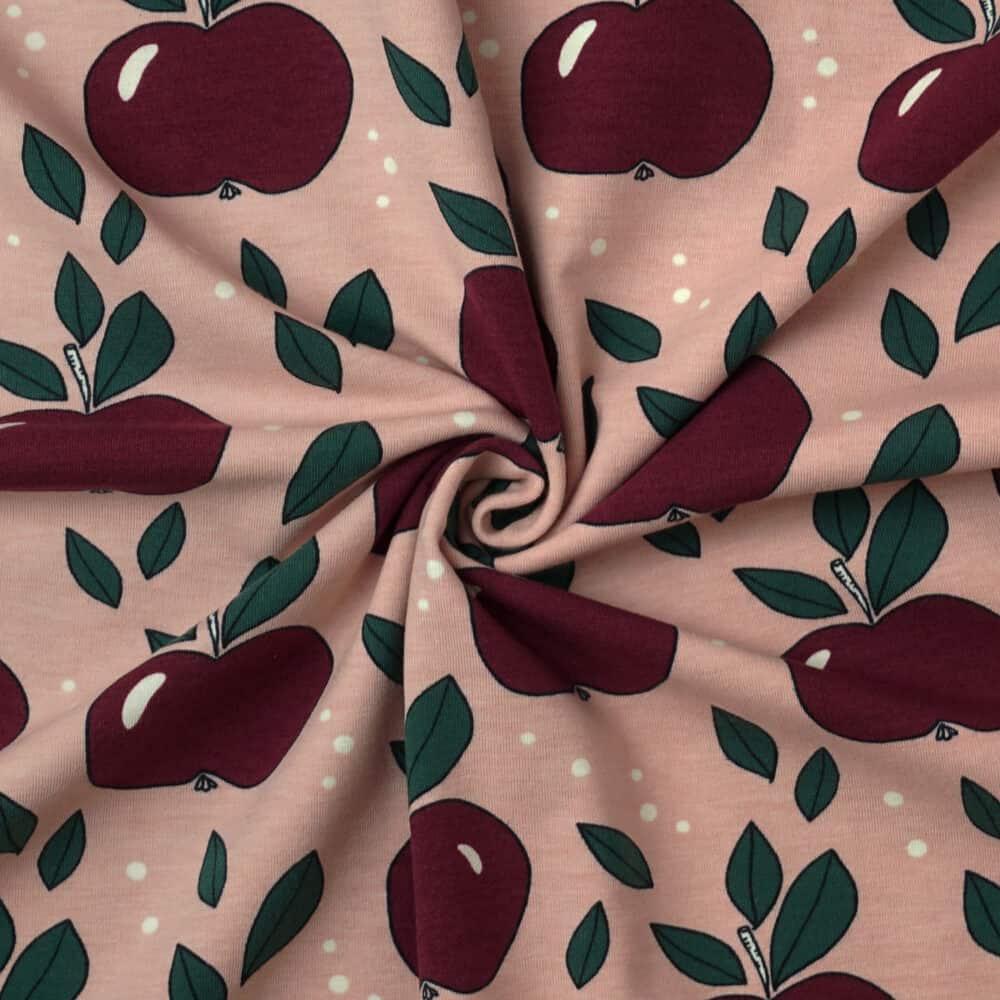Bio-Jersey - Äpfel - Elvelyckan Design
