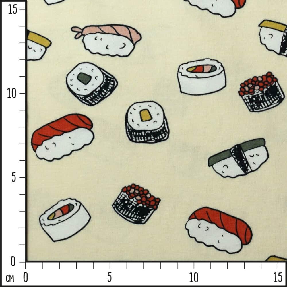 Bio-Jersey - Sushi - Elvelyckan Design