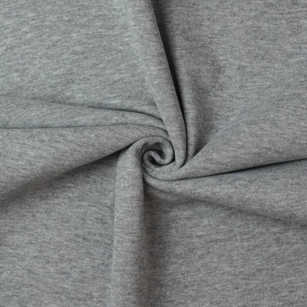 Bündchen - Grau meliert