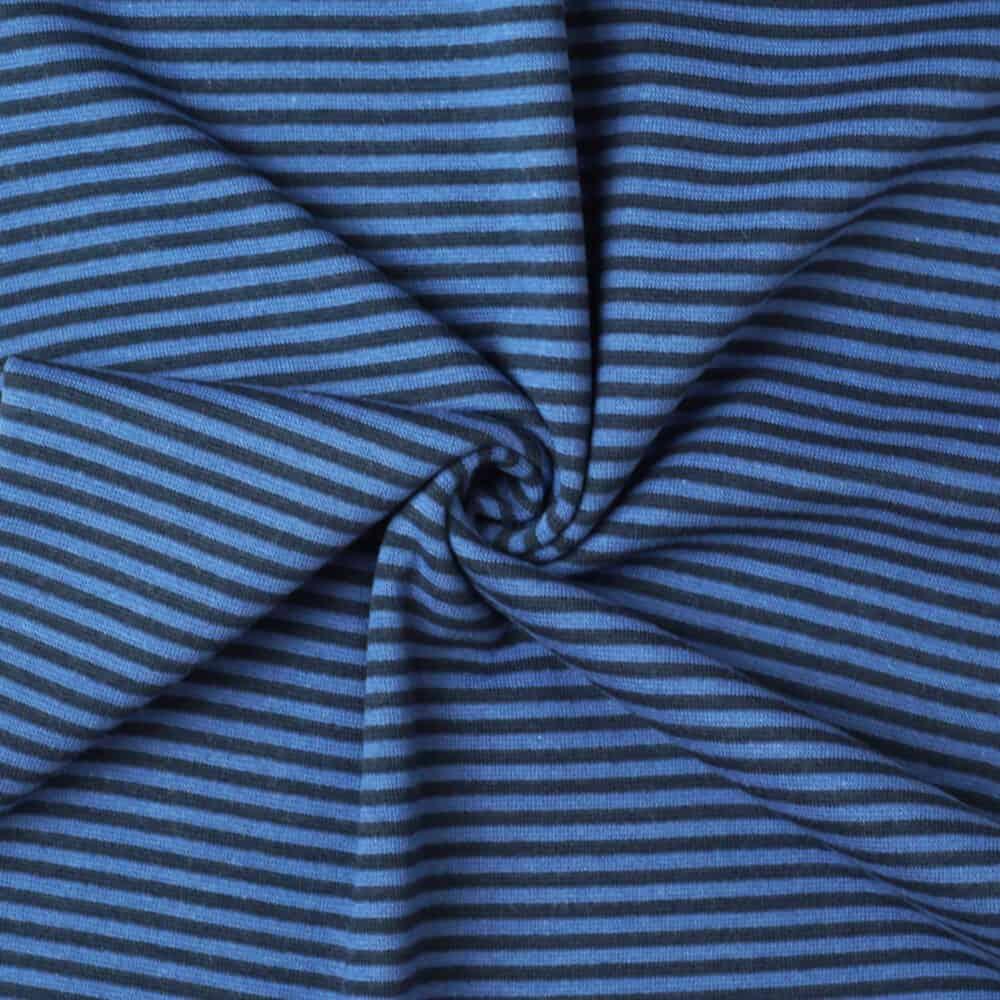 Bündchen - Streifen navy-jeansblau