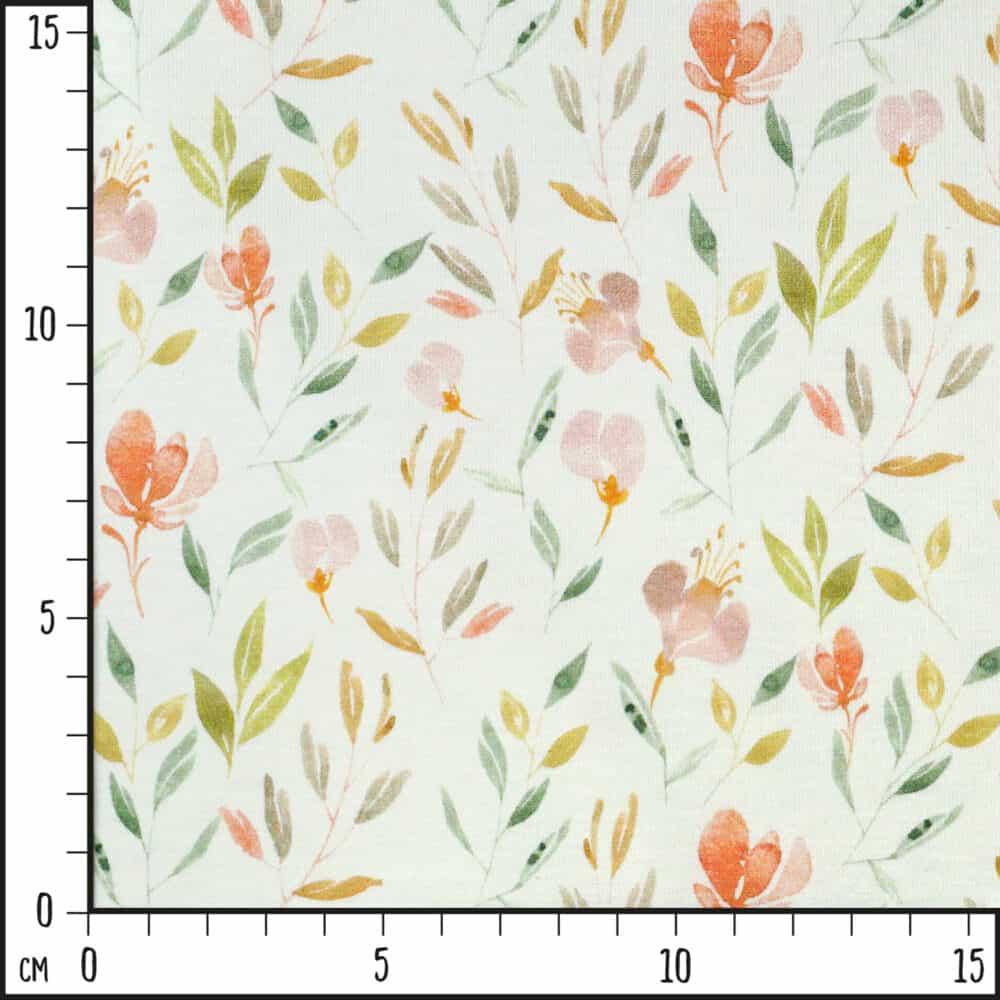 Jersey - Sommerblumen