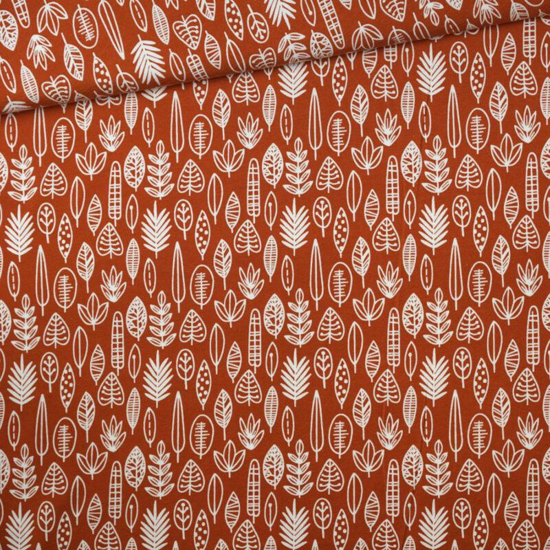 Jersey - Herbstblätter rost