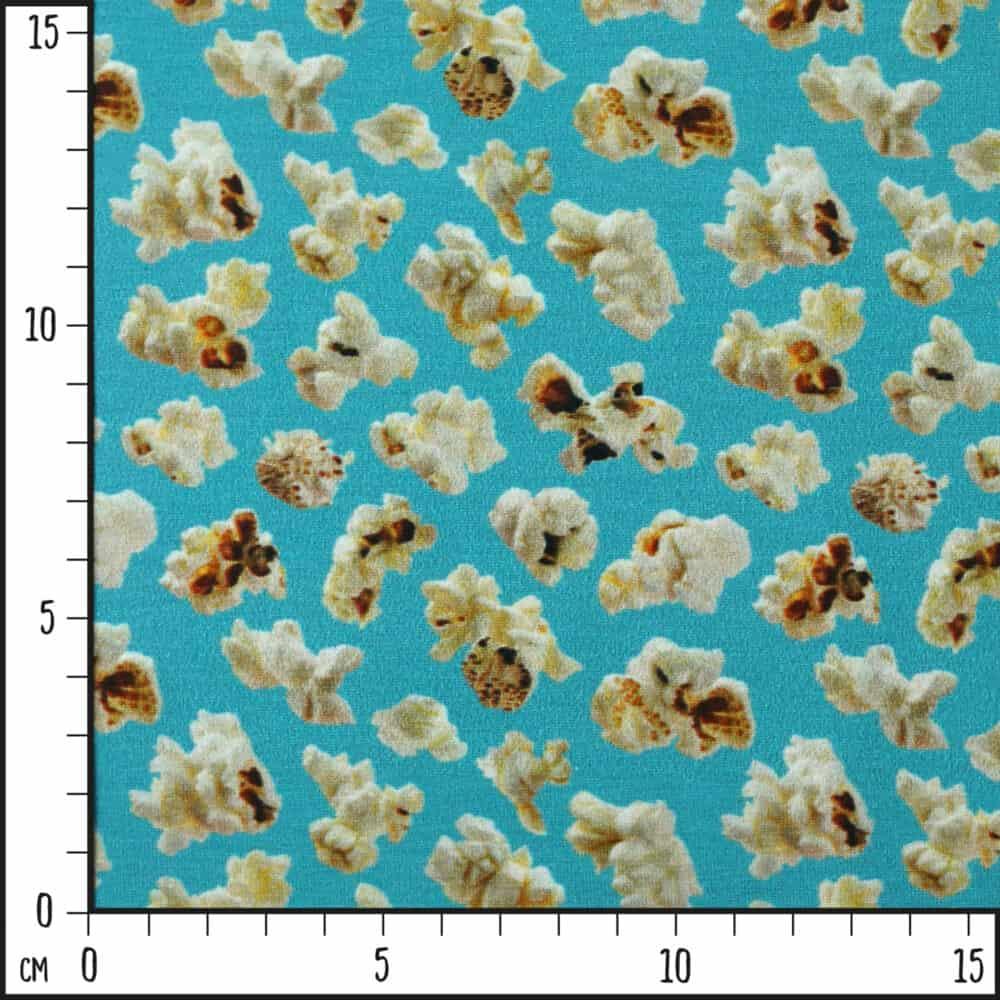 Jersey - Popcorn türkis