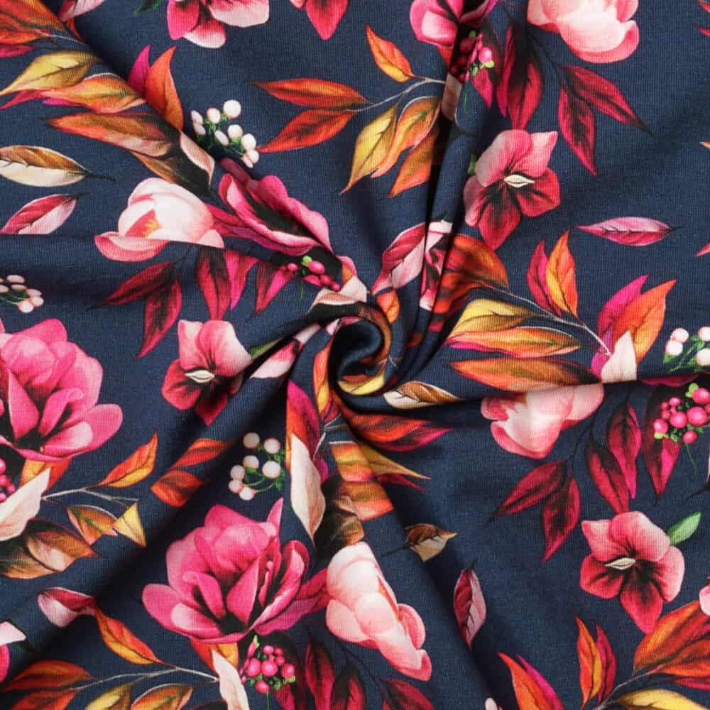 Jersey - Herbstblumen