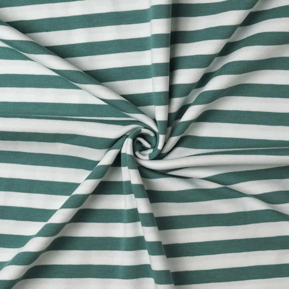 Jersey - Querstreifen mint