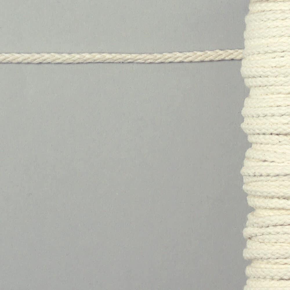 Baumwollkordel - 6mm - naturweiß
