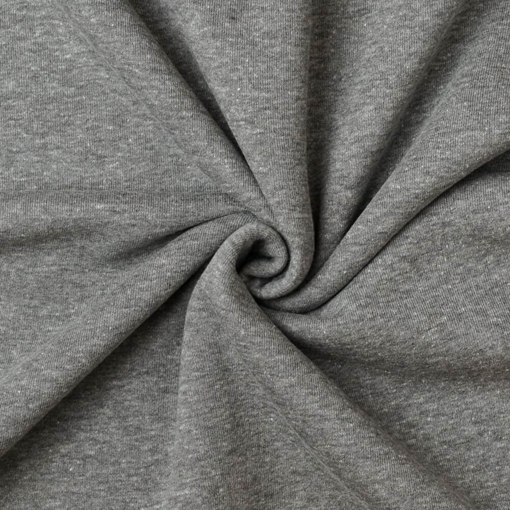 Kuschelsweat - Grau meliert