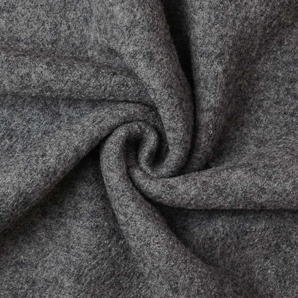 Wollwalk - Grau meliert