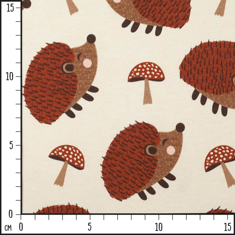 FrenchTerry_HedgehogMushrooms_Scale