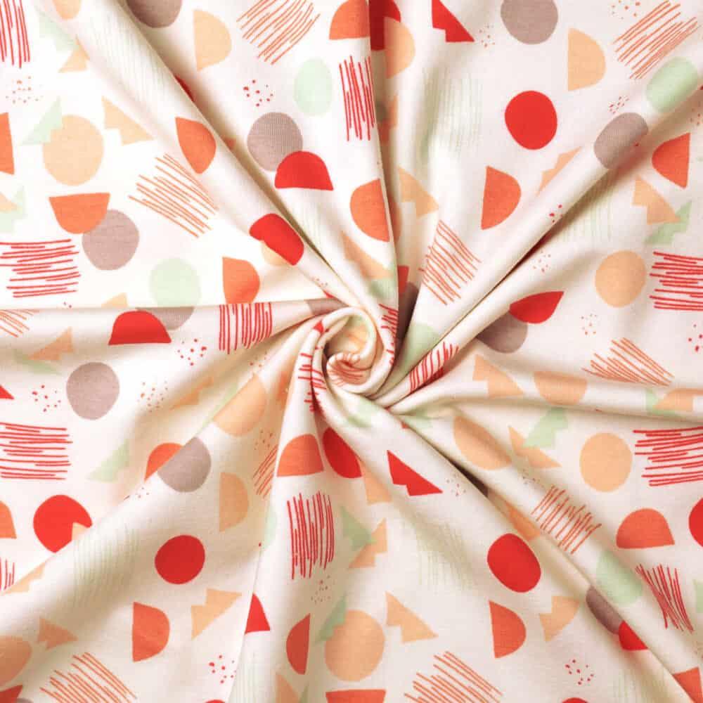 Jersey - Village Tundra Sprout - Art Gallery Fabrics