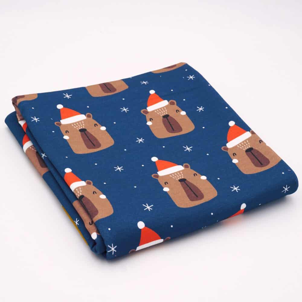 Stoffrest_FT_ChristmasbearBlue_100