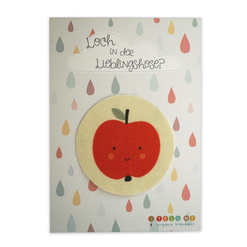 Aufnäher - Apfel (Bio)