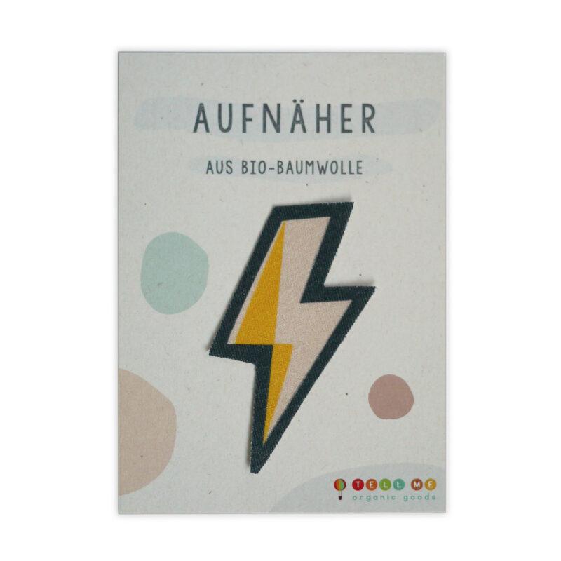 Aufnäher - Blitz (Bio)