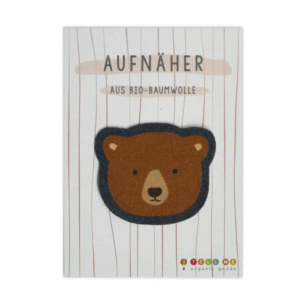 Aufnäher - Braunbär (Bio)