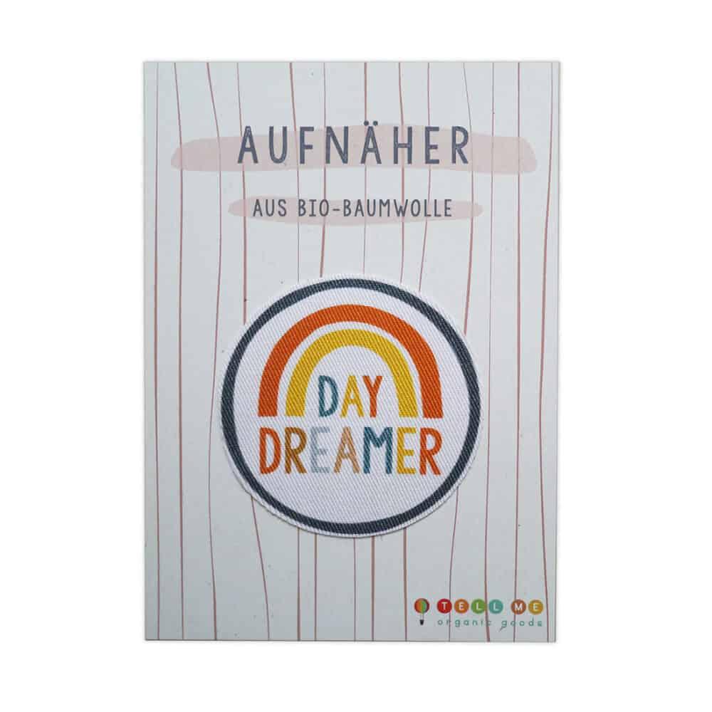 """Aufnäher - Regenbogen """"Daydreamer"""" (Bio)"""