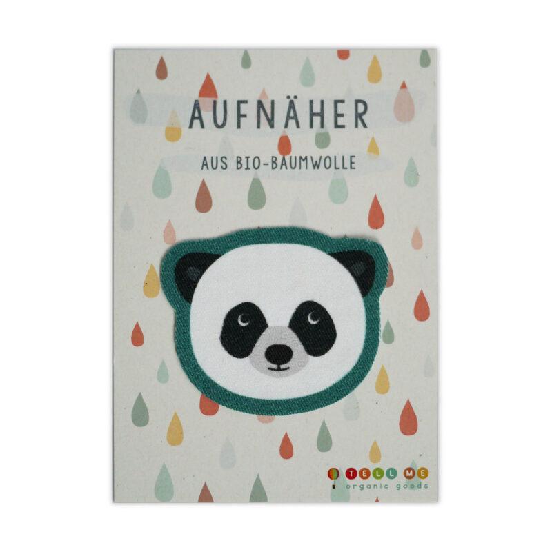 Aufnäher - Panda (Bio)