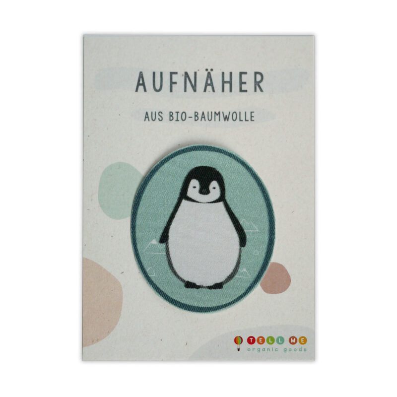 Aufnäher - Pinguin (Bio)