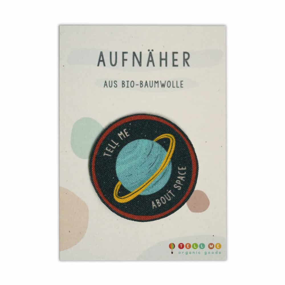 "Aufnäher - Planet ""Tell me about Space"" (Bio)"