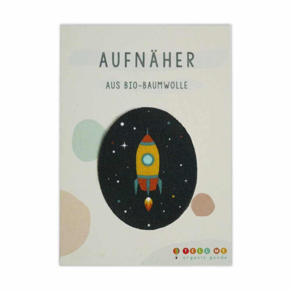 Aufnäher - Rakete (Bio)