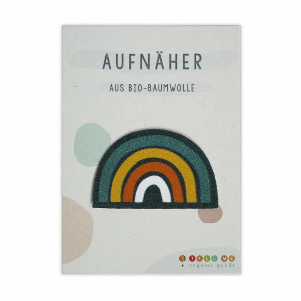 Aufnäher - Regenbogen (Bio)