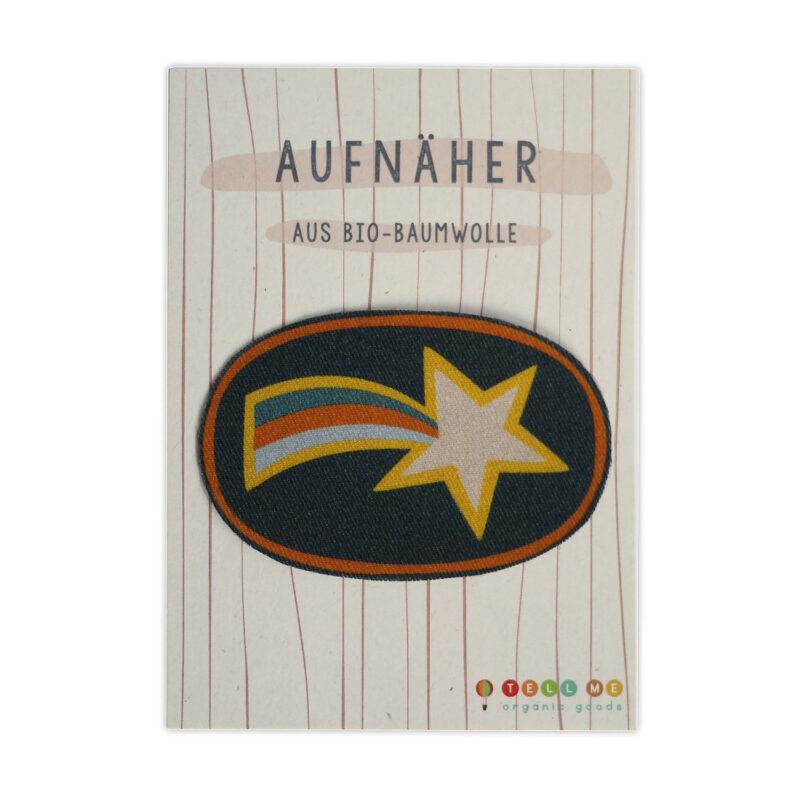 Aufnäher - Sternschnuppe (Bio)