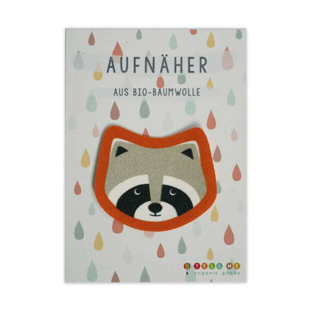Aufnäher - Waschbär (Bio)