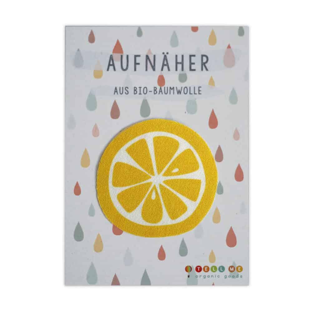 Aufnäher - Zitrone (Bio)
