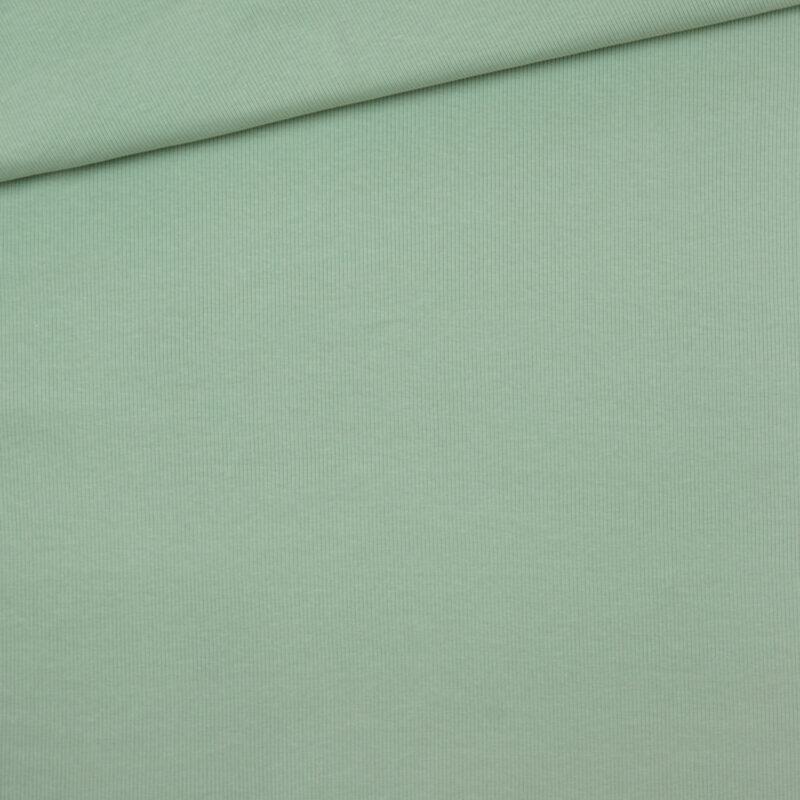 Bio-Ribjersey - Nebelgrün