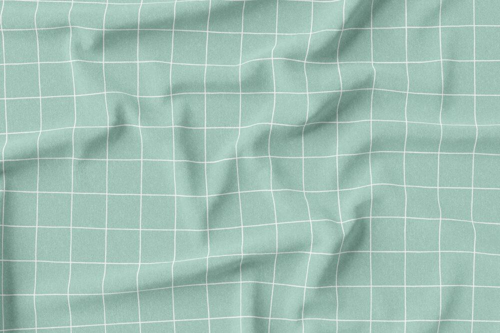 Jersey - Grid Mint