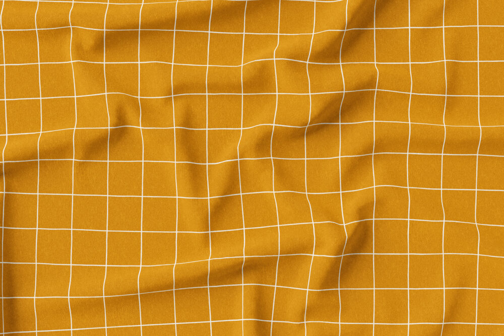 Jersey - Grid Senf