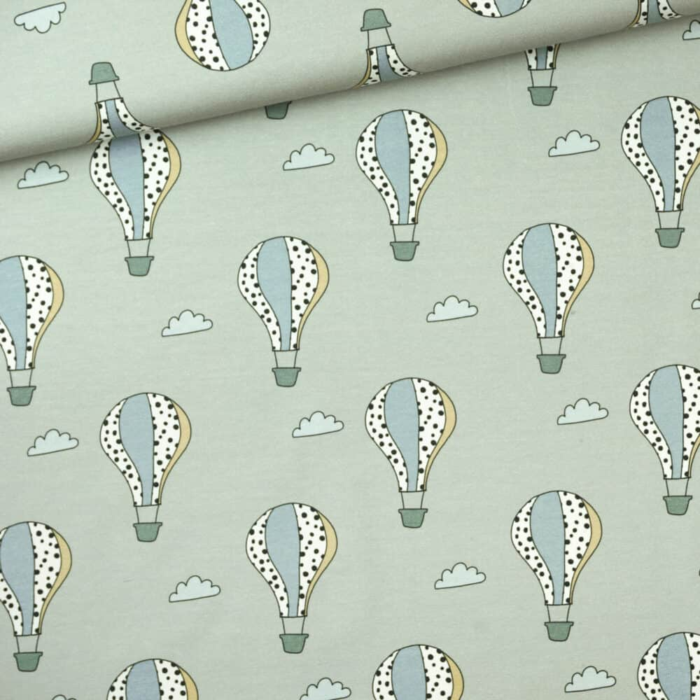 Jersey - Heißluftballons mint