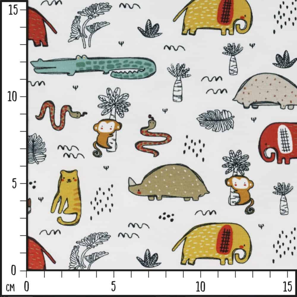 Bio-Jersey - Safari-Tiere