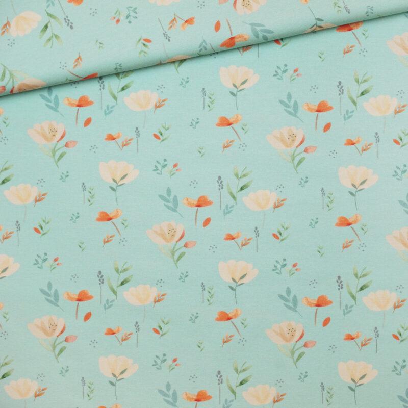 Jersey - Blumenwiese mint