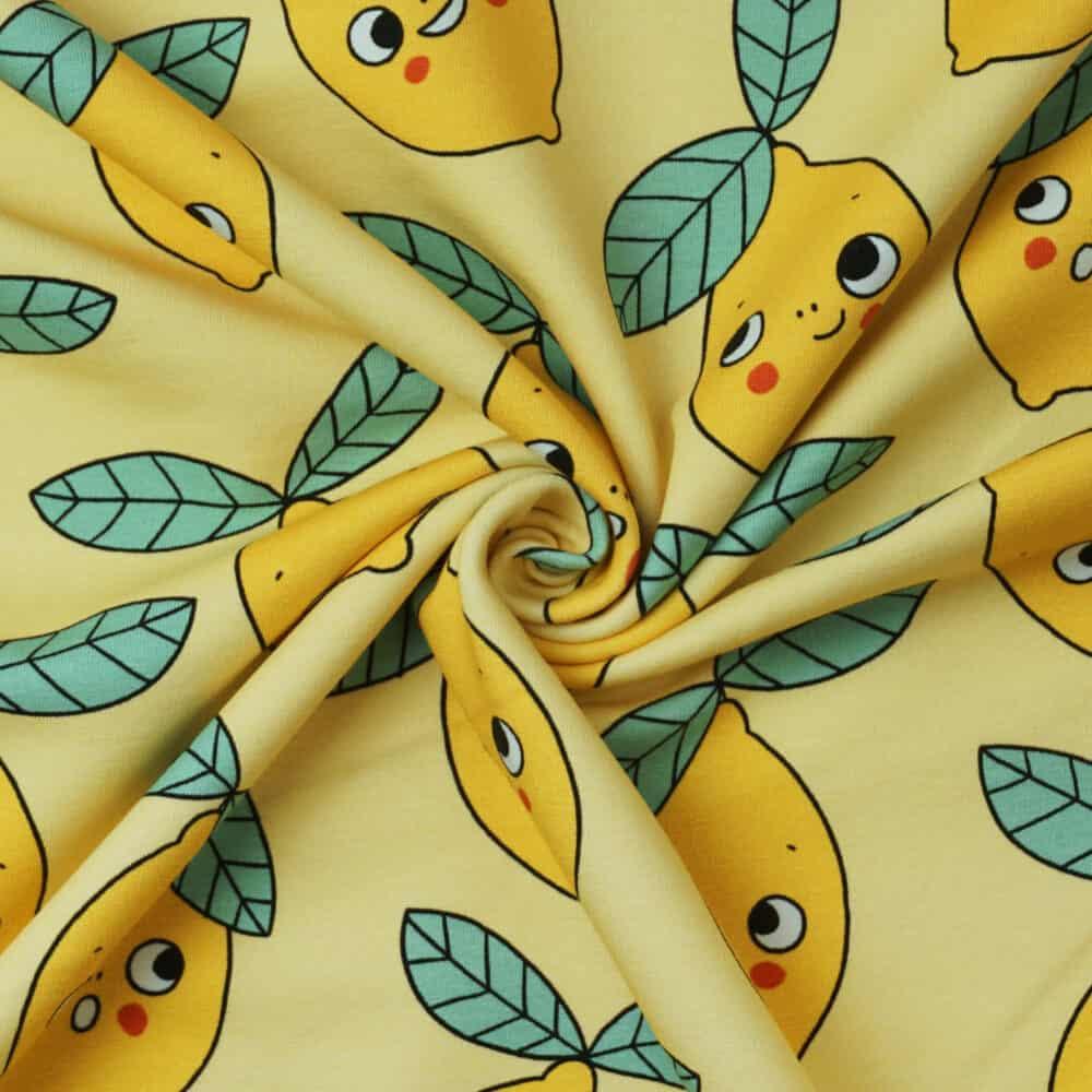 Bio-French Terry - Lemons - Eva Mouton