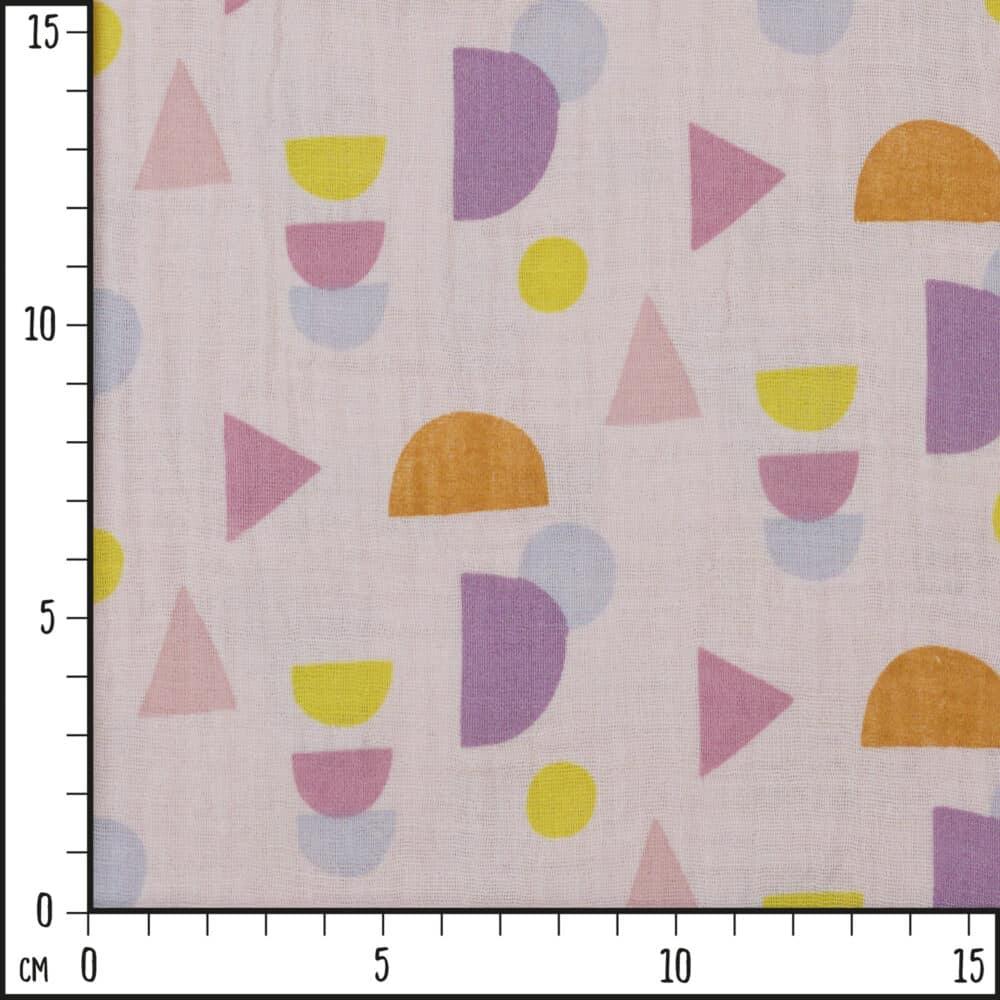 Musselin_GeometrischeFormenRosa_Scale