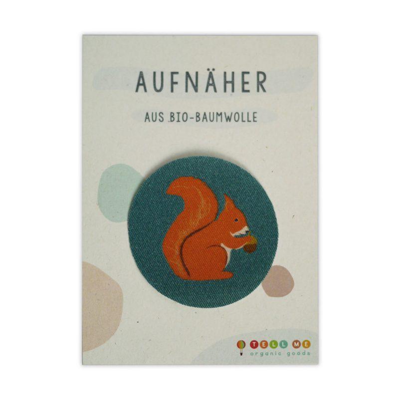 Aufnäher - Eichhörnchen (Bio)