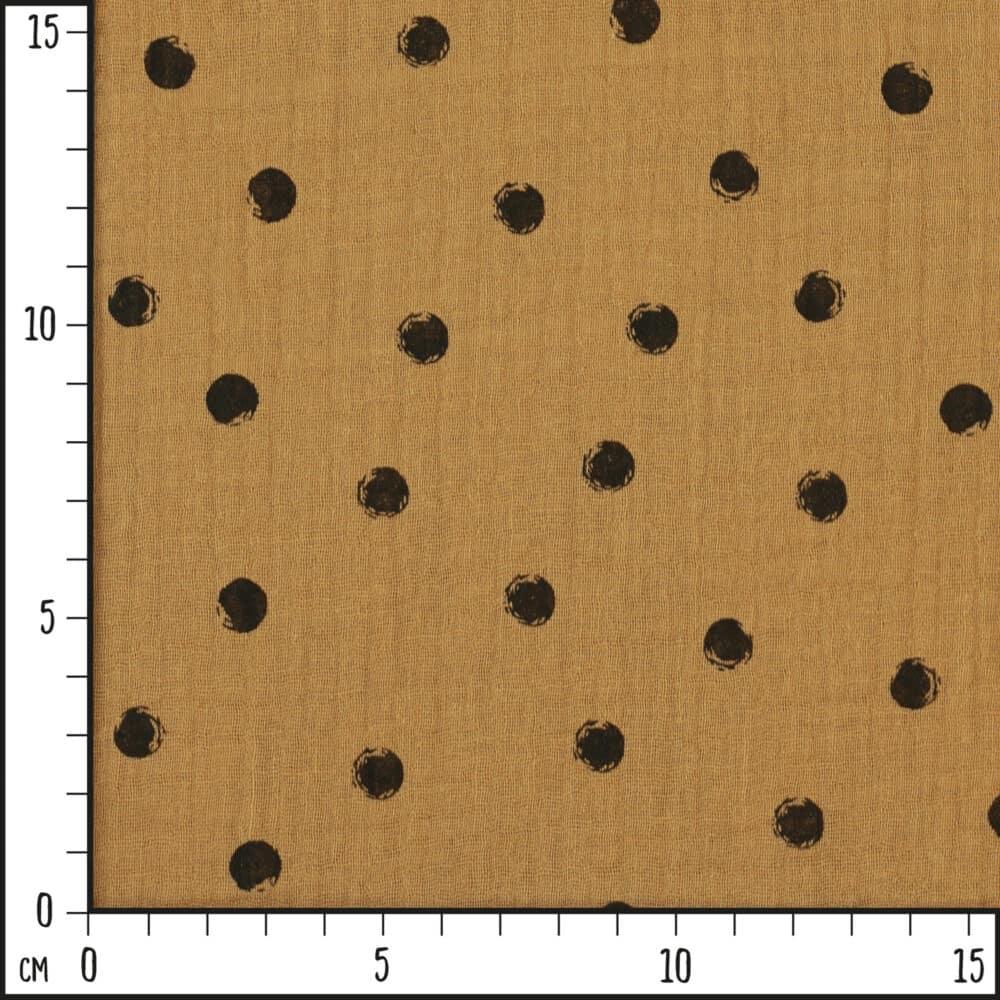 Musselin_PunkteCaramel_Scale