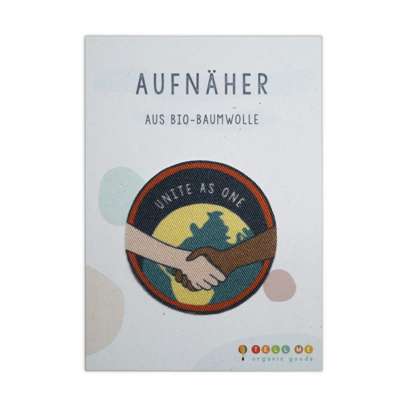 Aufnäher - No Racism 'Unite As One' (Bio)
