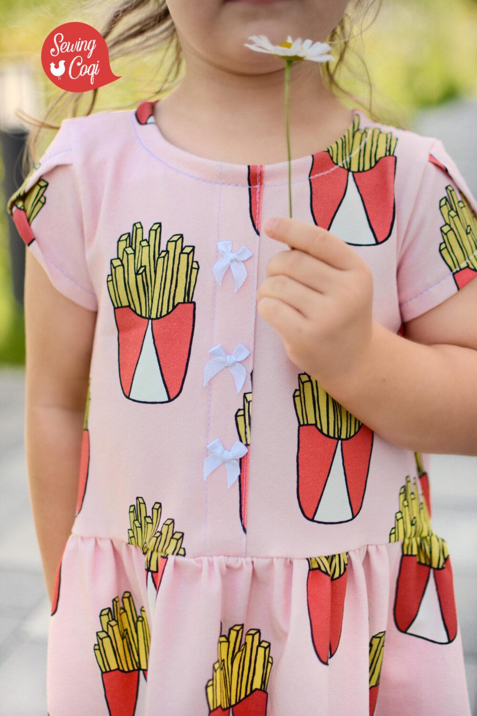 Designbeispiel - Fries rose