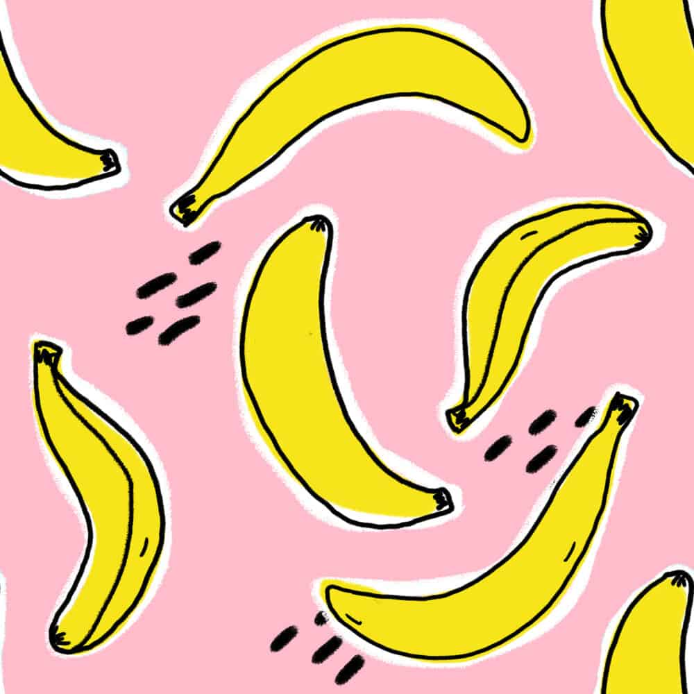 Design - Bananas rose