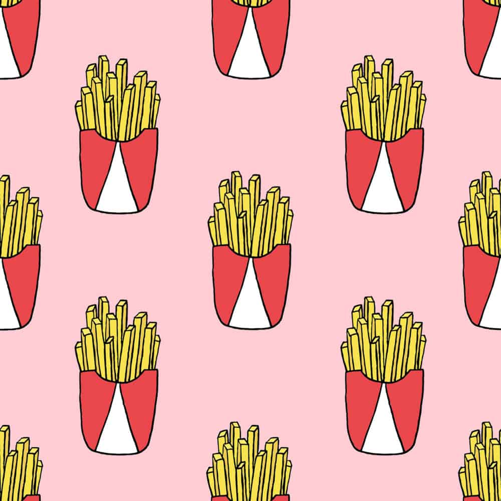 Design - Fries rose