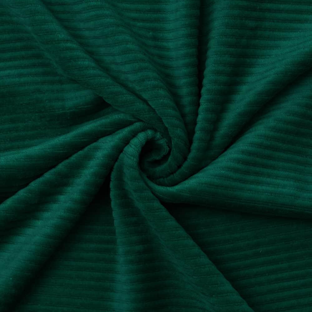 Cord-Jersey - Waldgrün