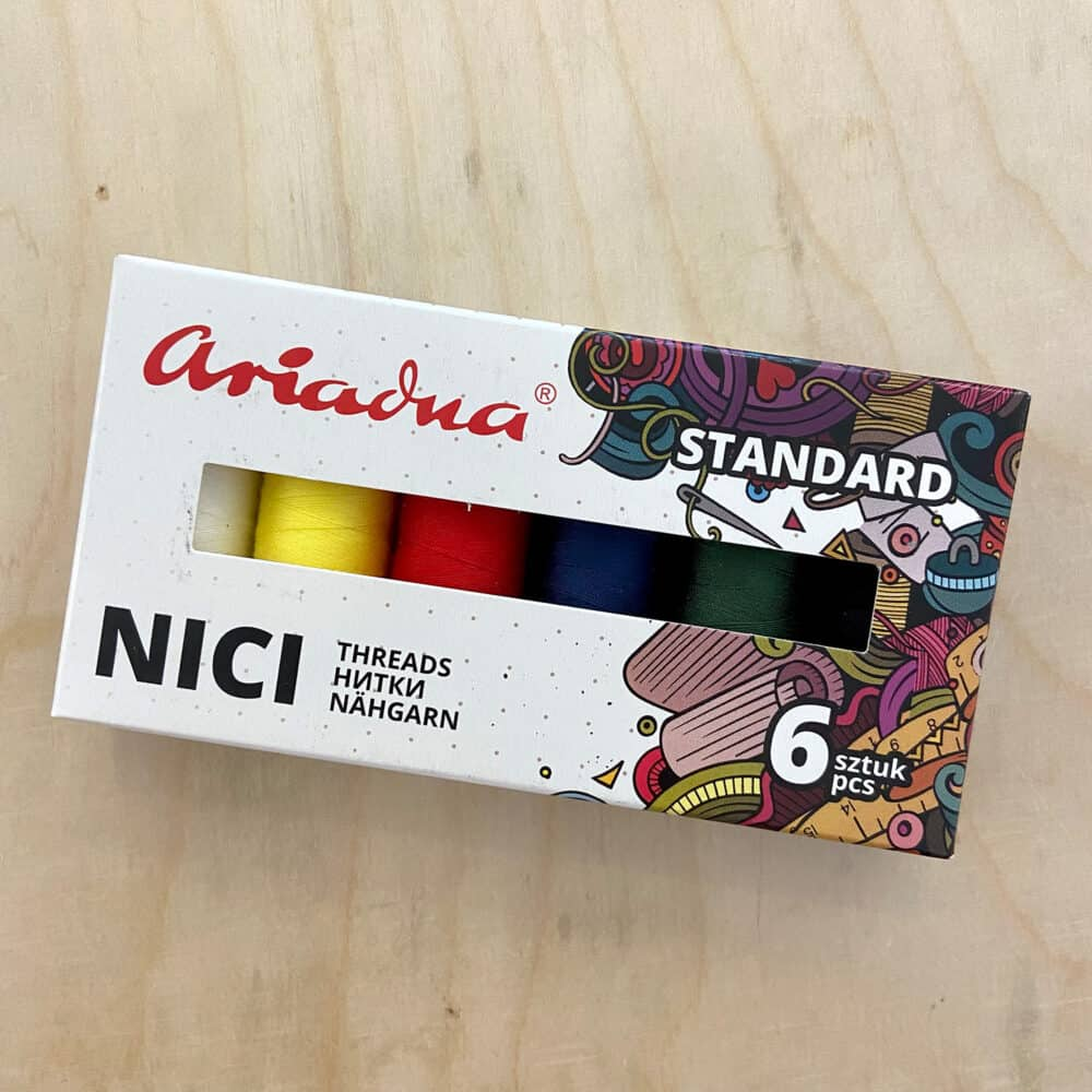 Garn-Set - Basicfarben (6 Stck.)