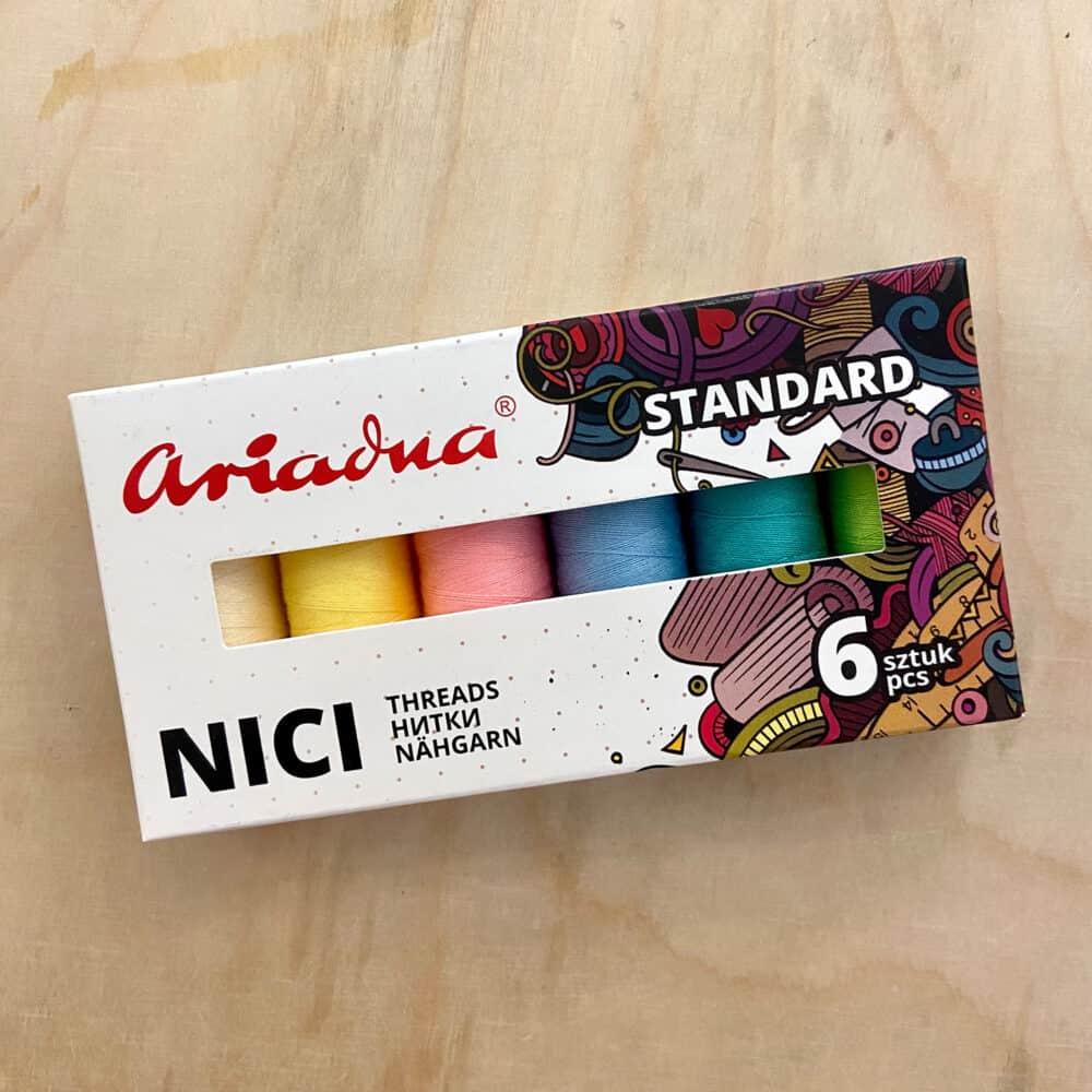 Garn-Set - Pastellfarben