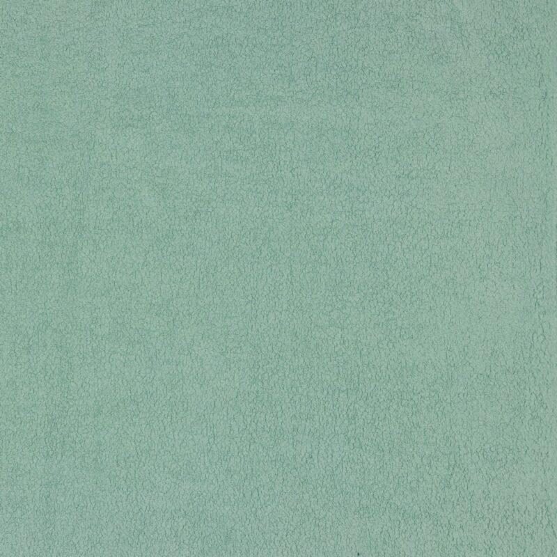 Sherpa-Baumwollfleece - Mint